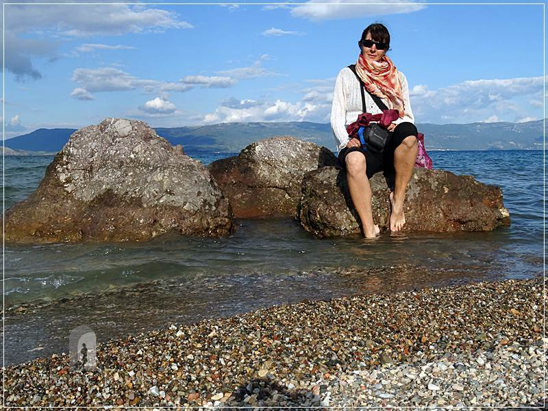 Ohrid Lake - camping Livadiste