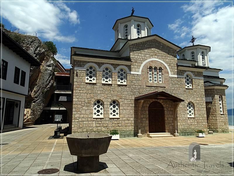 Ohrid Lake - Kalishta Monastery with cave church