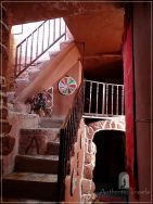 Dana Tower Hotel - the staircase of the Tower