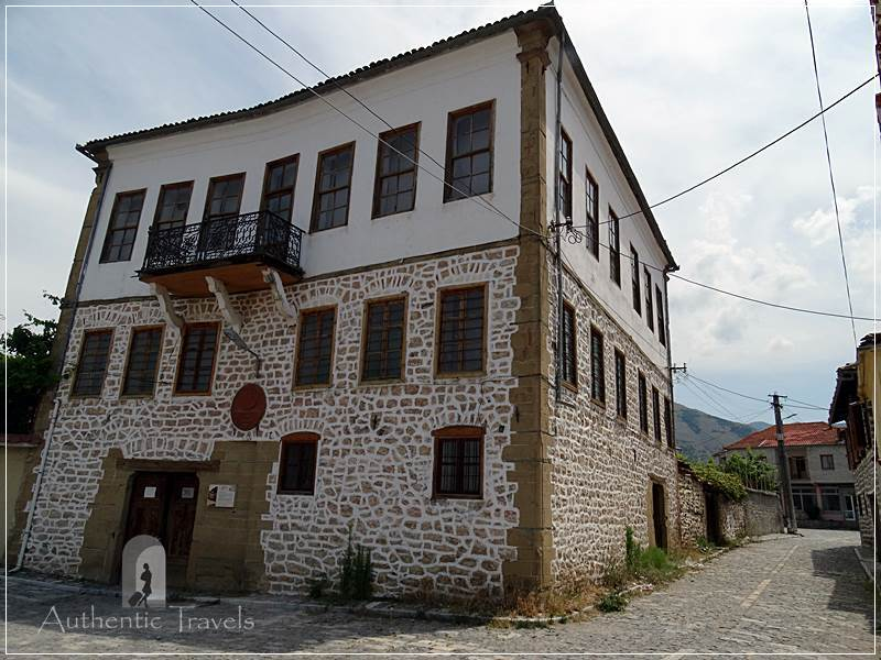 Korçë - the Archaeology Museum in the old part of the town