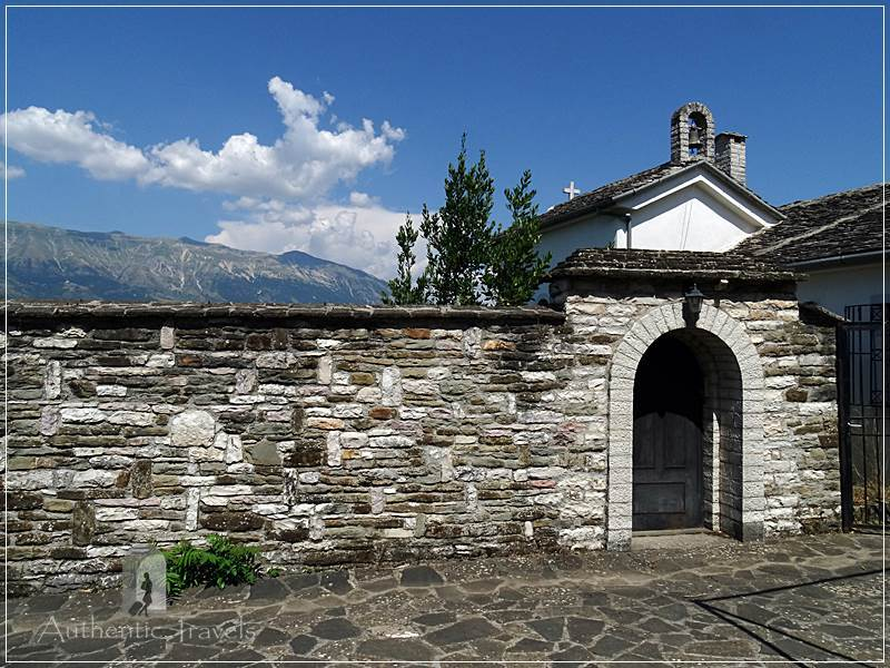 Gjirokastra - old church in the old bazaar