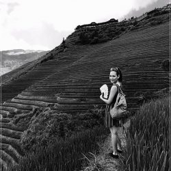 Rocio from This is Rocio. Rice paddies of Longsheng, China
