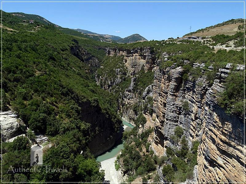 Osumi Canyon, the Grand Canyon of Albania