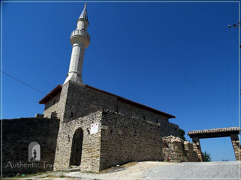 Prezë - the mosque of the old fortress