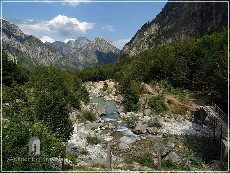 Valbona - a village somewhere up in the Albanian Alps