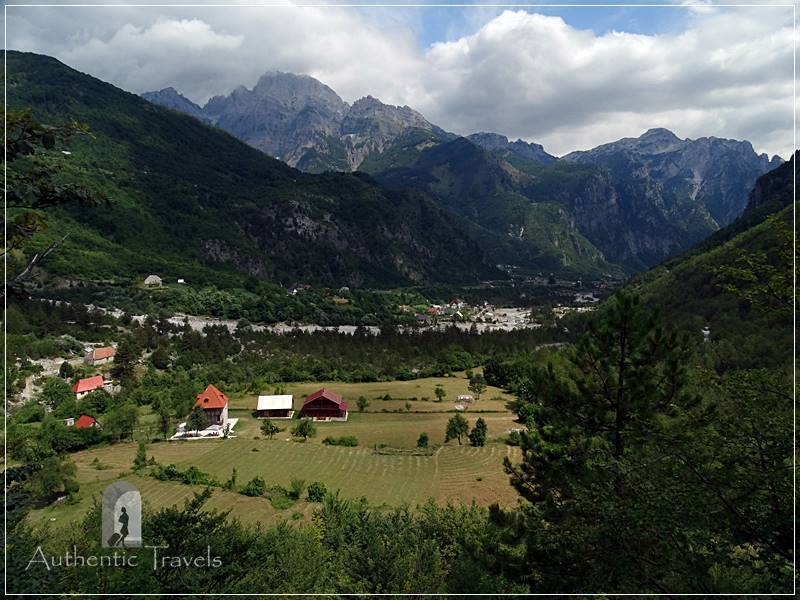 Gjecaj Theth Village - in the middle of the Albanian Alps