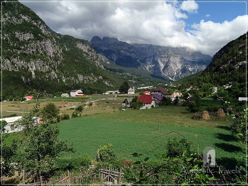 Qender Theth Village - in the middle of the Albanian Alps