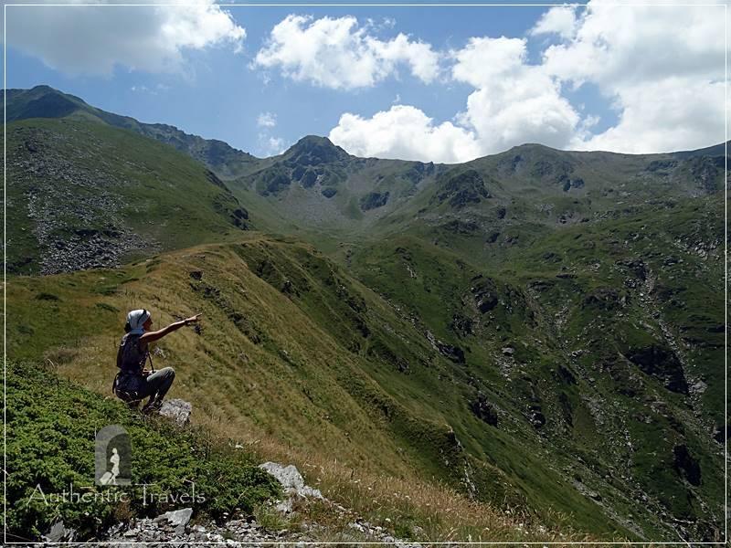 Hiking in the Mali Sharr Mountains, from Prevalla mountain resort (near Prizren)