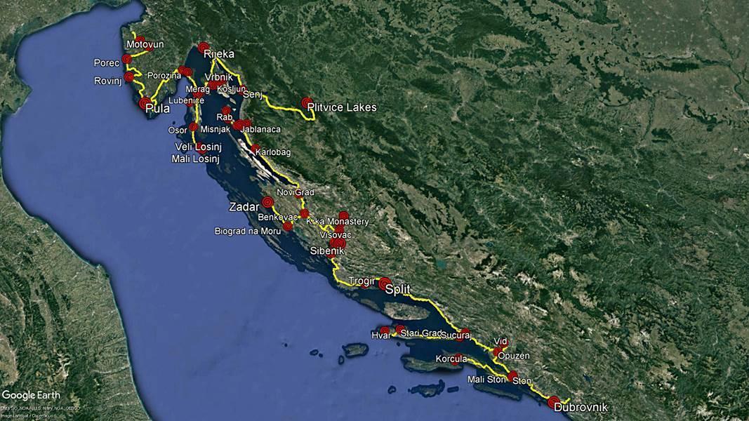 Balkan Countries Travel Planning 2018 - Croatia