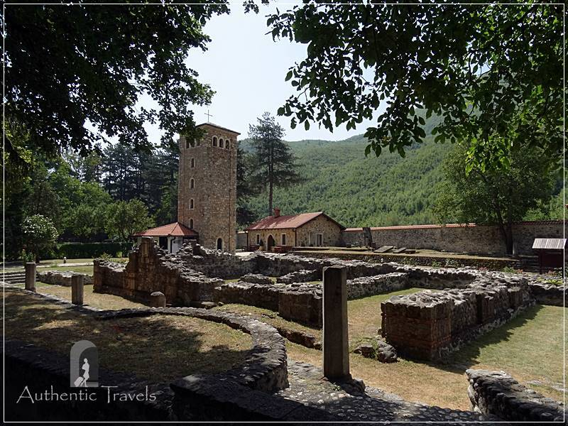 Near the Rugova Valley: Peja old town with the Patriarchate of Peć