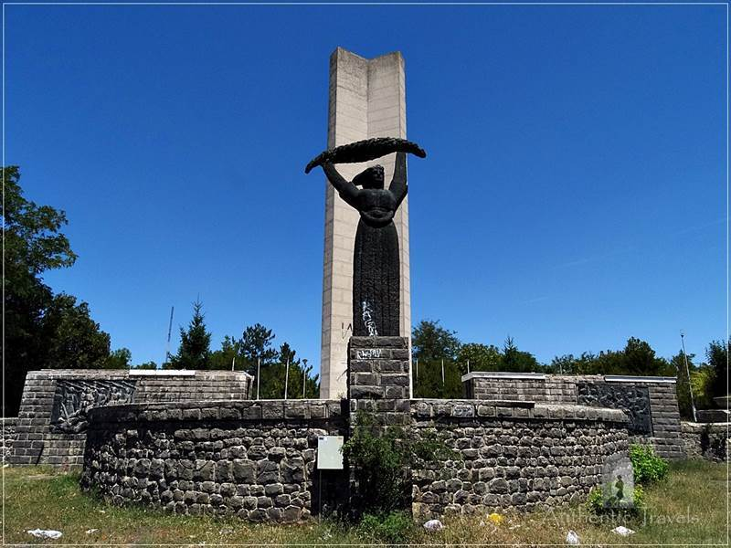 Kumanovo - The Soldiers' Memorial on Kosturnica Hill