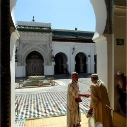 Fes old medina: Quaraouiyine Mosque and University - I was not allowed to enter