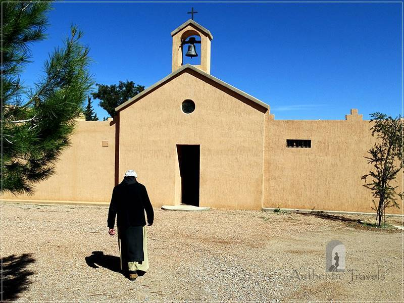 Monastery Notre Dame de l'Atlas in the former Kasbah de Myriem, near Midelt: guided visit with Pere Jean Pierre