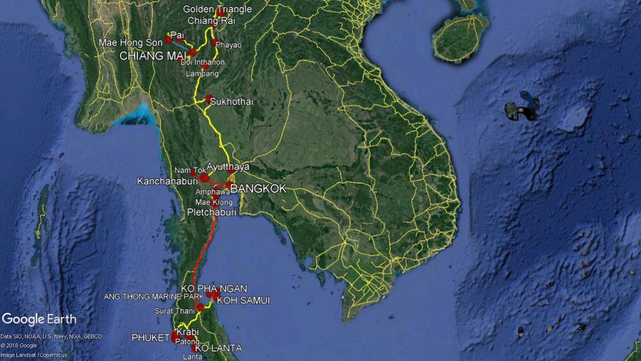 Thailand Travel Planning 2019
